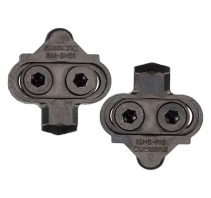 Klamper orginal Shimano SPD SM-SH51 leveres med skruer