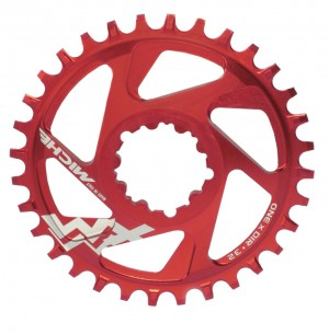 Miche klinge MTB XM SR One x Dir 6mm Offset 30 t., red, 11-speed | chainrings_component