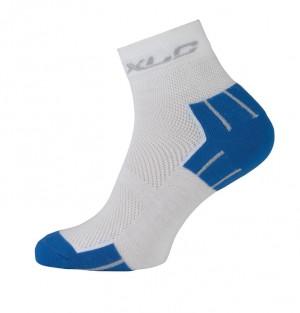 XLC MTB cykelstrømper Coolmax® CS-C02 Size 43 - 46 white/blue | Socks