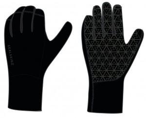 SealSkinz cykelhandsker Neopren Road black size S (7-8) | Gloves