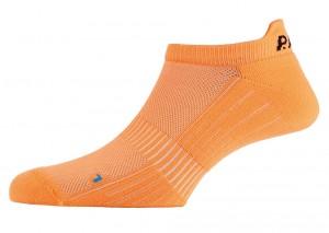 P.A.C cykelstrømper P.A.C. Active Footie Short Women's cykelstrømper neon orange size 38-41 | Socks