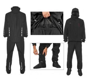 Rainlegs ben regn overtræk sæt black Size L | shoecovers_clothes