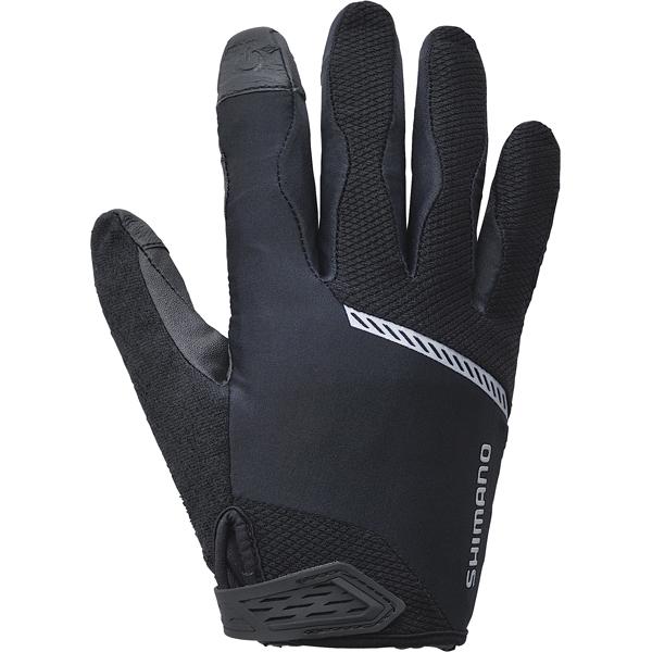 Shimano cykelhandsker Original lang sort XL | Gloves