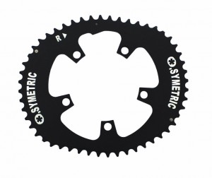 Osymetric klinge 110mm Campa 11-gear 50/38 T. black | chainrings_component