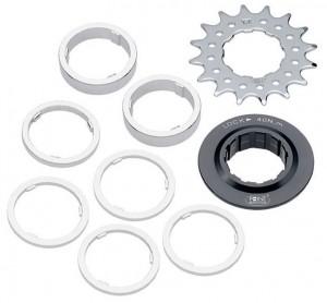 Single Speed klinge / Distance Ring-Set 16 Sprockets | chainrings_component