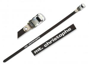 Zefal pedal straps 440mm Christophe 515 XL | Toe clips