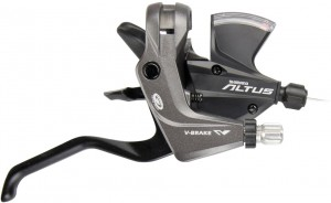 Shimano skiftegreb Deore ST-M370 2-Finger 9-way, right, 2050mm black | Gear levers