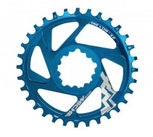 Miche klinge MTB XM SR One x Dir 6mm Offset 32 t., blue, 11-speed | chainrings_component