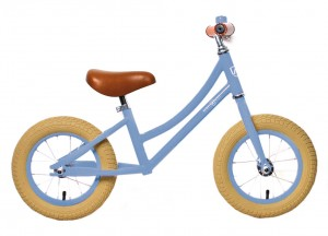 "Balance løbecykel Air Classic Unisex 12,5"", Steel, Classic light blue 
