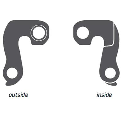 Geardrop til flere cykelmærker bla. Ghost - EZ1852 | Derailleur hanger