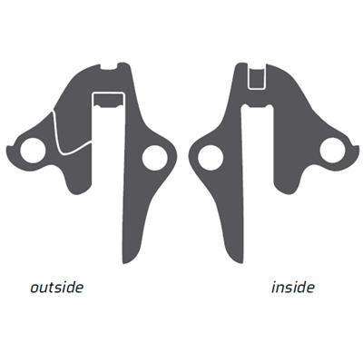 Geardrop til flere cykelmærker bla. Ghost - EZ1855 | Derailleur hanger
