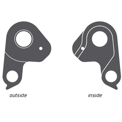 Geardrop til flere cykelmærker bla. Ghost - EZ2037 | Derailleur hanger