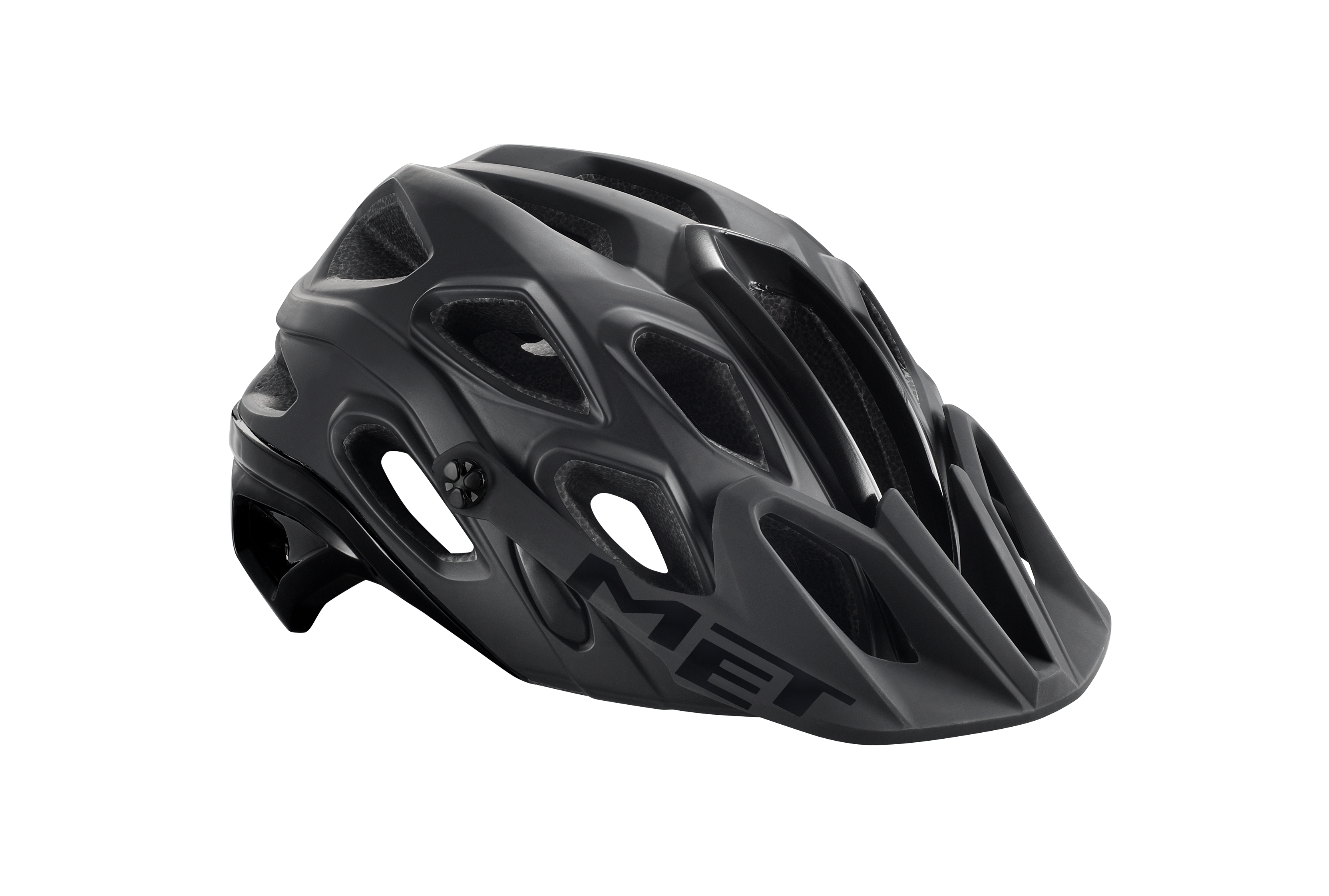 MET Lupo Army mtb cykelhjelm - sort | Helmets
