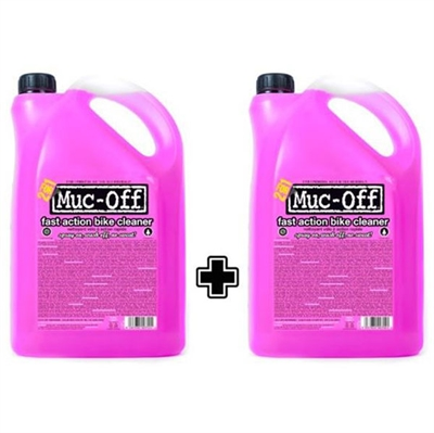 MUC-OFF cykelvask biodegradable - cykelvask i 2X5 liters dunke | polish_and_lubricant_component