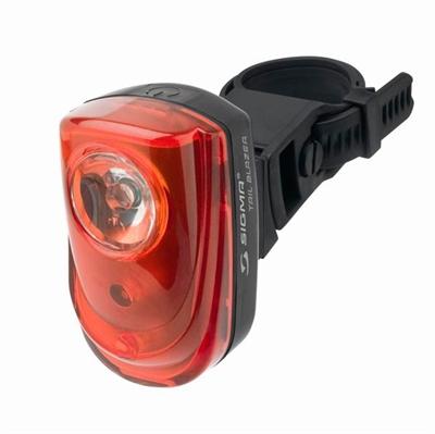 Sigma Tail Blazer baglygte - godkendt efter nye regler - sort   Rear lights