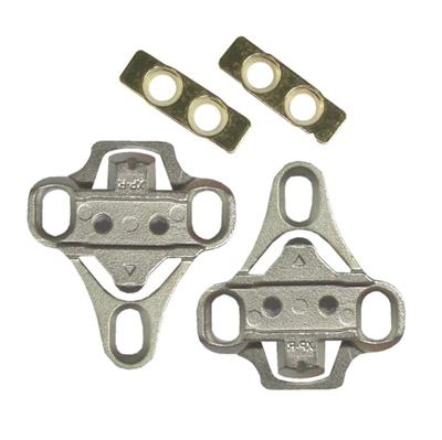 Klampe adapter laver om fra 3 huls landevejssko til spd klampe | Pedal cleats