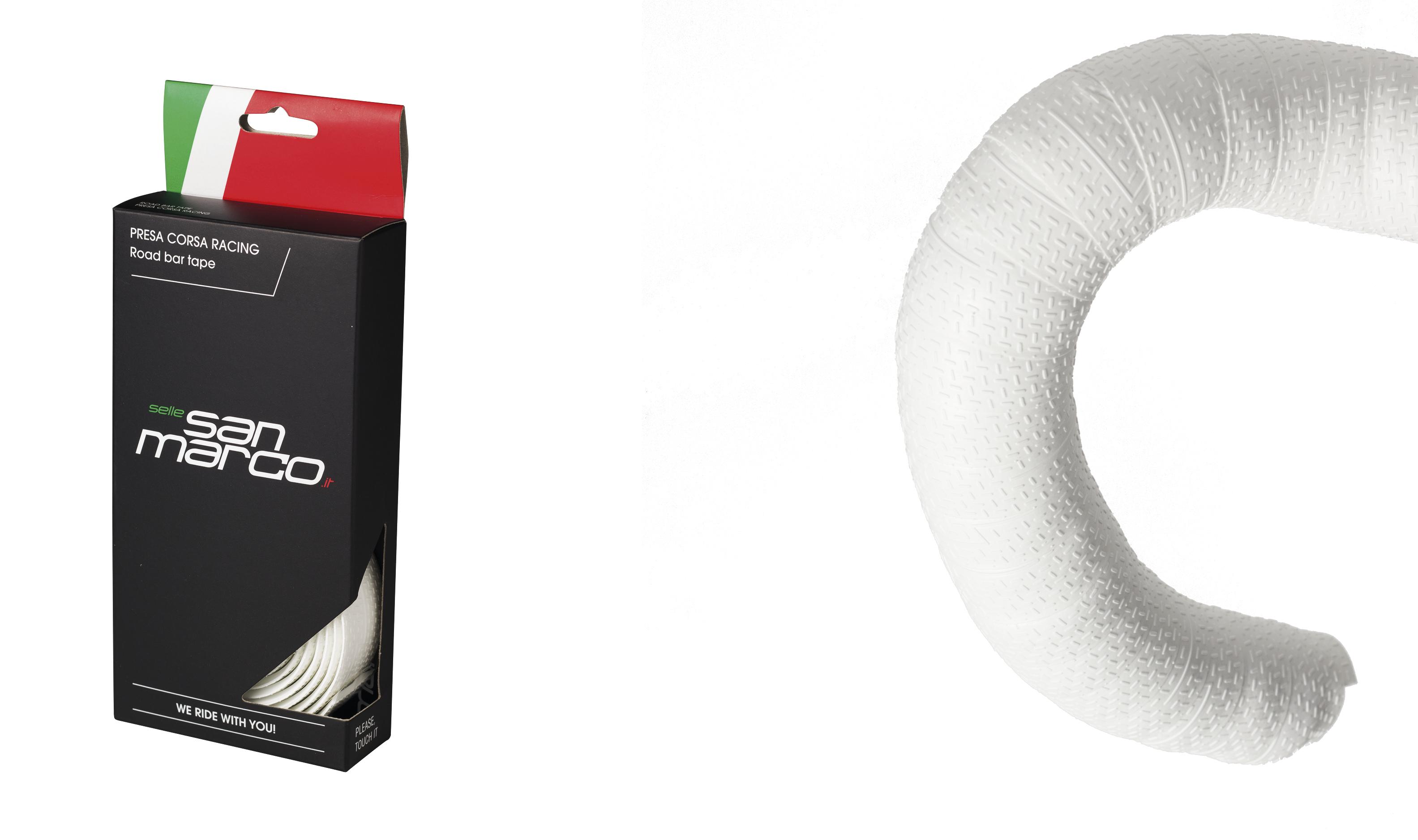 San Marco Styrbånd Dynamic, Hvid   Bar tape